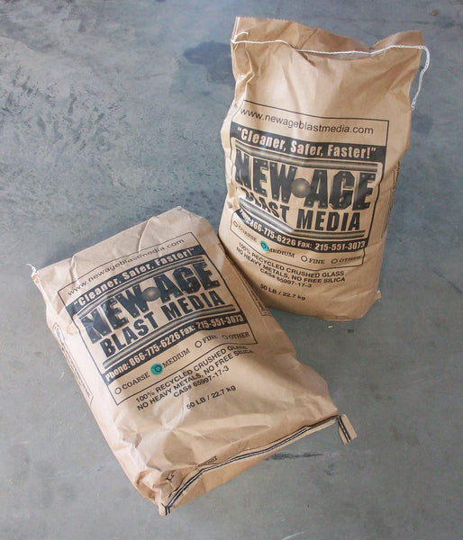 Crushed Glass 40/70 Medium #50 Lb Bag (Call for pricing and shipping options)