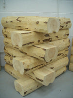 Wall Logs Available in 8', 10', and 12' Lengths (Red Pine)
