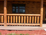 Log Railing Materials (Red Pine)