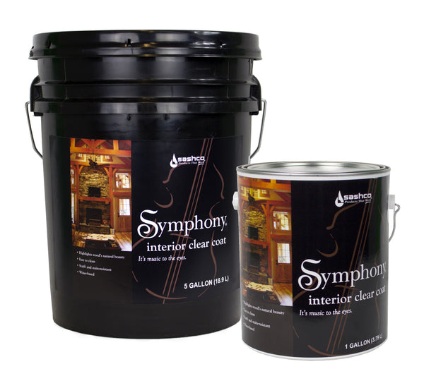 Symphony Interior Clear Free Shipping 5 Gallon Pails Only.  Please call to get this offer.