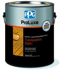 PPG ProLuxe Cetol Log & Siding (FREE SHIPPING)