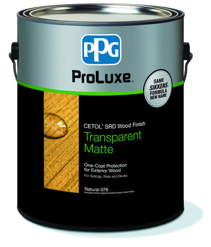 PPG ProLuxe Cetol SRD RE (Also For Decks)