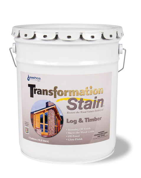 Transformation Log And Timber Free Shipping 5 Gallon Pails Only.  Have to call to get  this offer.