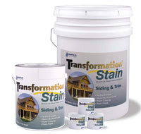 Transformation Siding And Trim (Also For Decks) Free Shipping 5 Gallon Pails Only.  Have to call to get this offer.
