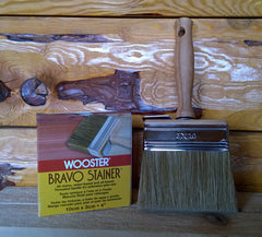 "4"" Wooster Bravo Stainer #F-5119 (OUT OF STOCK)"