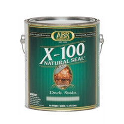 X-100 Natural Seal Deck Stain