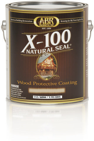 X-100  Natural Seal Wood Protective Coating