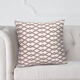 "Chain Link Greystone 20"" Pillow"