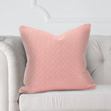 "Beach Club Rhubarb Red 20"" Pillow"