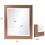 Marley Forest Richmond Rectangle Mirror
