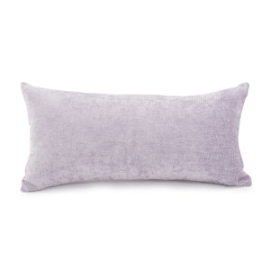 Current Marine Lilac Kidney Chenille Pillow