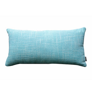 Tex Weave Caribbean Blue Kidney Pillow