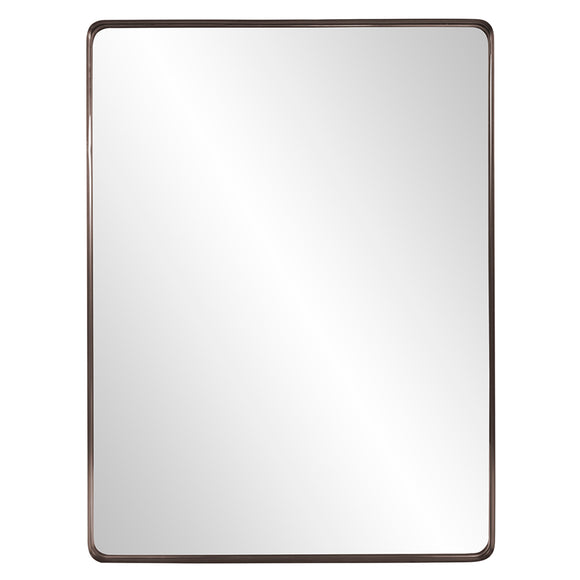 Marley Forest Industrial Brass Mirror