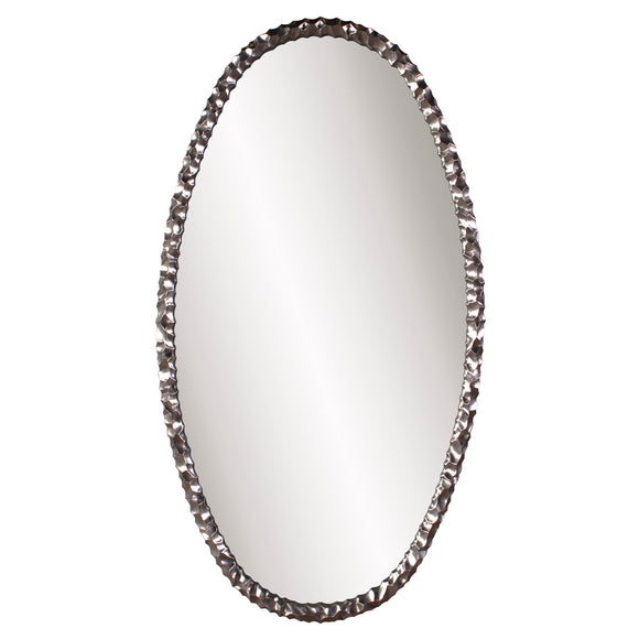 Marley Forest Mercury Oval Mirror