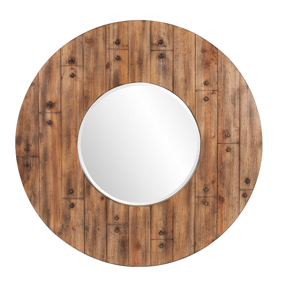 Marley Forest Bronco Round Mirror