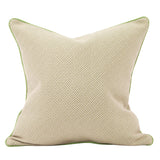 "Beach Club Palm Green 20"" Pillow"