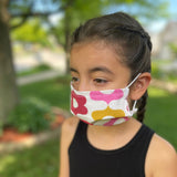 Reusable Kid's Face Mask in Calliope Jellybean Floral