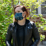 Reusable Face Mask in Bandana Denim