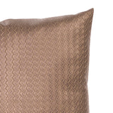 "Weave Bronze 20"" Pillow"