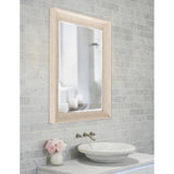Marely Forest Spencer Cream Rectangle Mirror