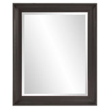 Marely Forest Spencer Black Rectangle Mirror