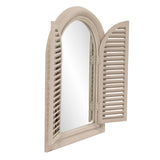 Marley Forest Window Arched Mirror with Doors