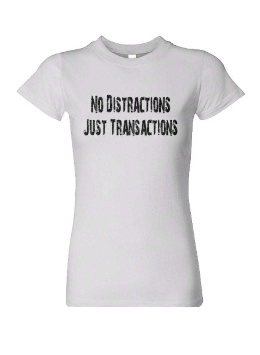 NO DISTRACTIONS T SHIRT
