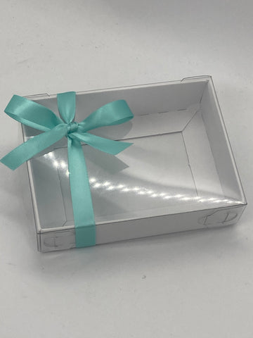 CLEAR LID BOXES BLANK 115 X 85 X 30mm