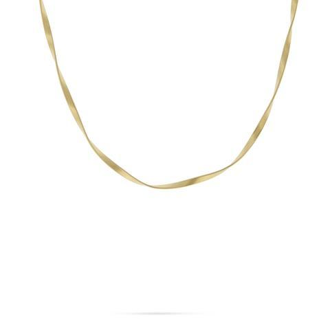 18K Marrakech Supreme Yellow Gold Single Strand Necklace