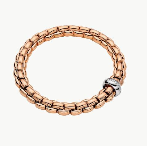 Eka Collection Flex'it Bracelet in 18K Gold .19 Carat Weight
