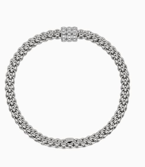 Solo Collection Flex'it Bracelet with .30 Carat Weight Diamonds