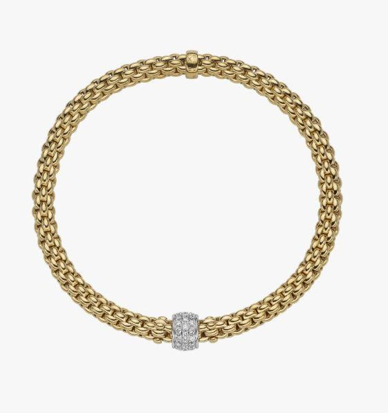 Solo Collection Flex'it Bracelet with .29 Carat Weight in Diamonds