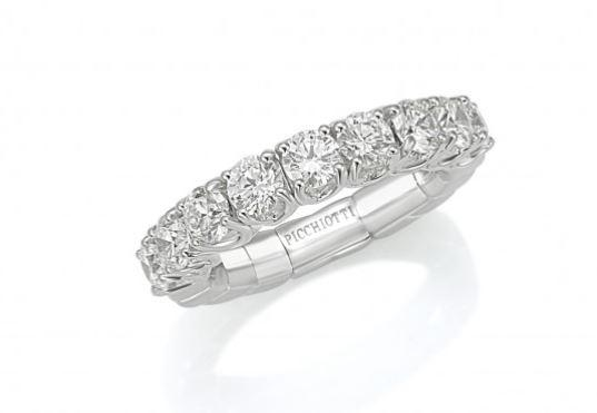 Xpandable Collection Half Way Eternity Band 2.30 CTW