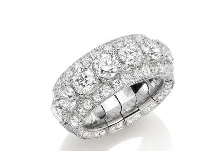 Xpandable Collection Full Eternity Round Diamond Band