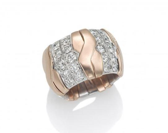 Xpandable X_Gold Diamond Ring