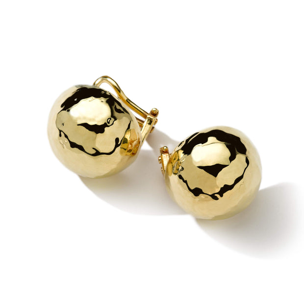 18K Classico Pinball Clip Earrings