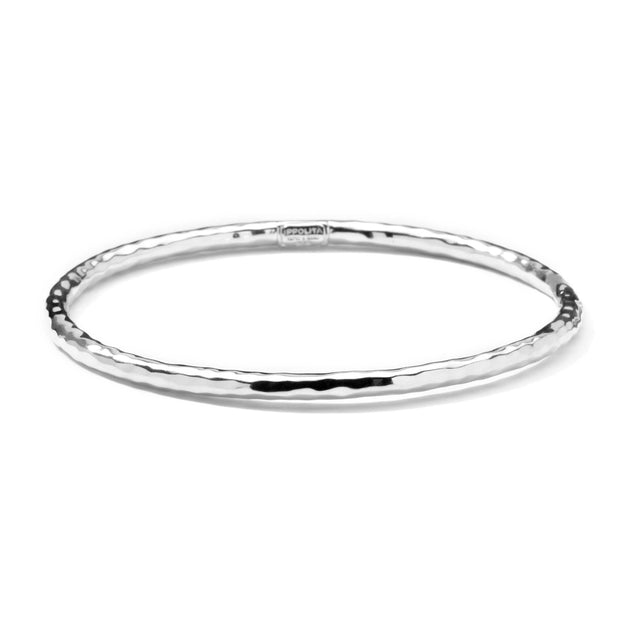 Sterling Silver Classico Hammered Bangle