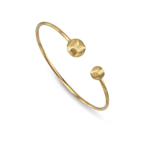 18K Africa Collection Yellow Gold Hugging Bangle