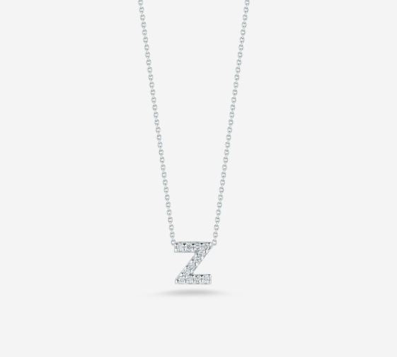 "LOVE LETTER ""Z"" DIAMOND PENDANT"