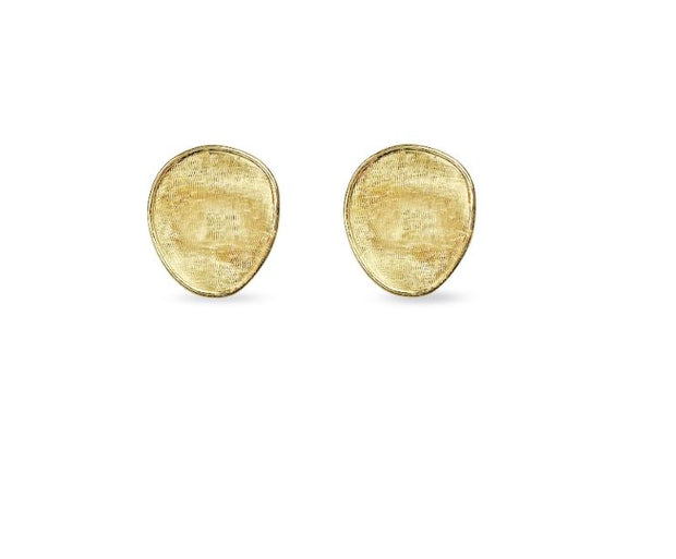 18K Lunaria Collection Yellow Gold Petite Stud Earrings