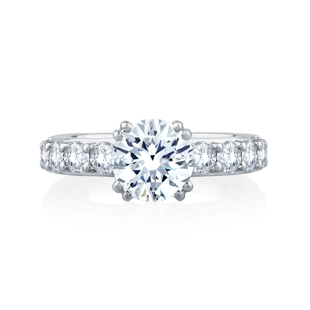 Timeless Classic Shared Prong Engagement Ring