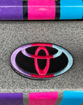 LOT Colored Toyota Embroidered Patch