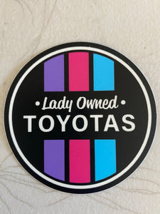 New LOT Circle Sticker
