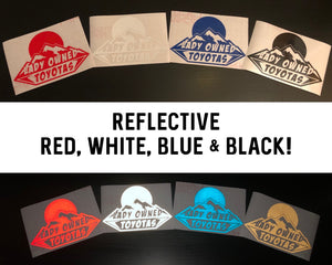 Reflective LOT Decal