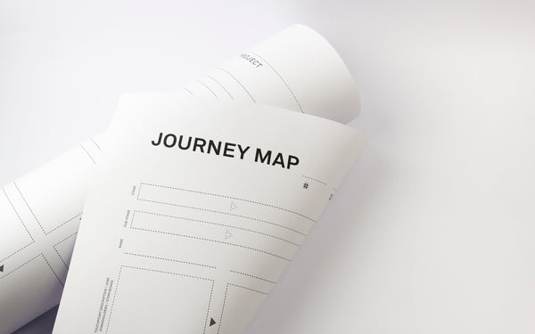 Journey map workshop template [A0 format]