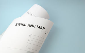 Swimlane map workshop template [large A0 format]
