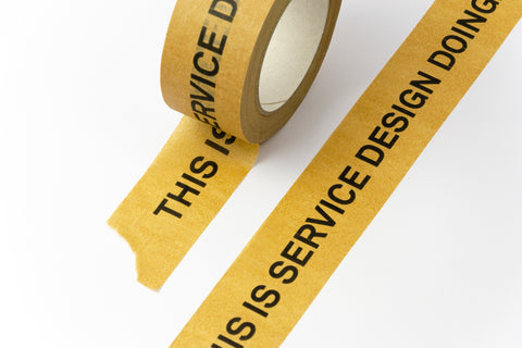 "Sticky Tape ""This is Service Design Doing"""