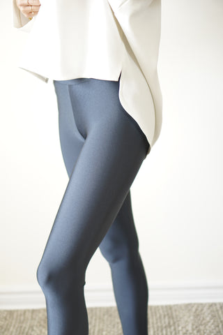 Leggings - Dark Dusty Blue
