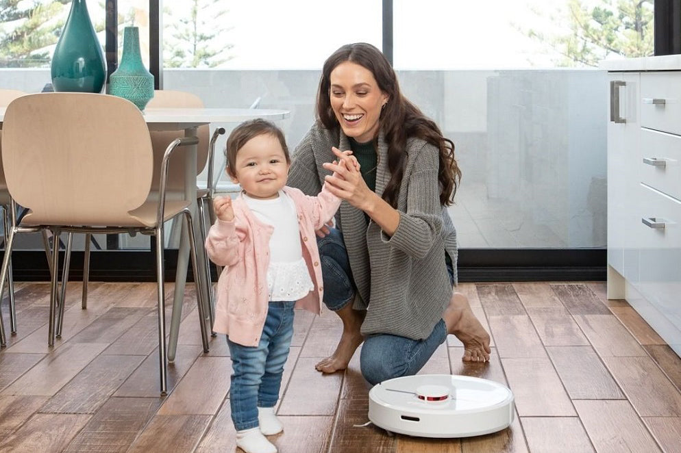 disinfect the floor with dreame robot vacuum
