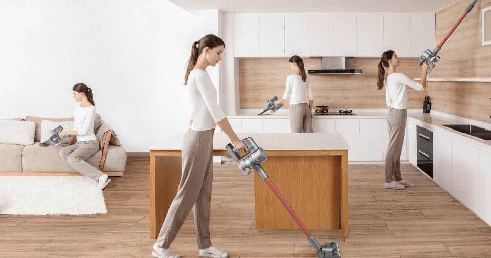 Dreame t20 vacuum for narrow spaces